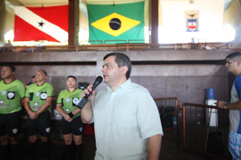 O subchefe da Casa Militar, coronel Luiz Mendonça, disse que o objetivo maior do torneio é integrar  valorizar os policiais militares