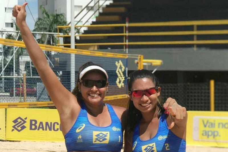 Rafaela Fares e Jessica Santiago vão disputar a 1ª Etapa do Circuito Brasileiro de Vôlei de Praia Challenger 2019
