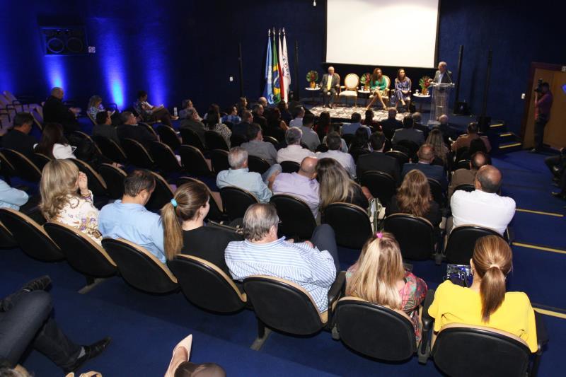 O evento, promovido pela Federação das Indústrias do Pará (Fiepa), foi realizado no Auditório Albano Franco, na noite desta quarta-feira, 23.