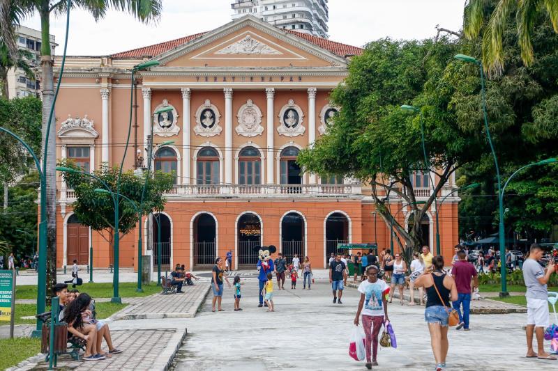 Lazer - Praça da República