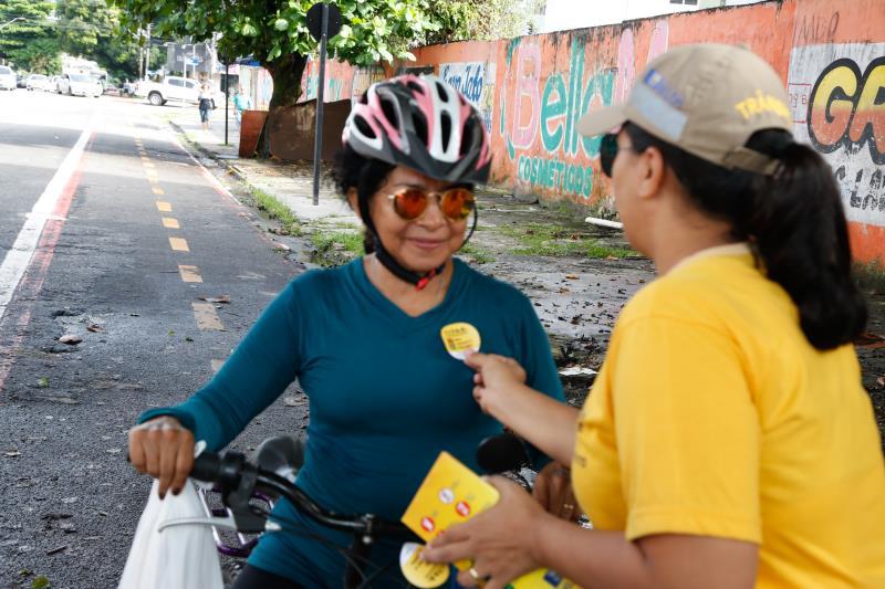 Ciclistas recebem atenção especial desta gestão