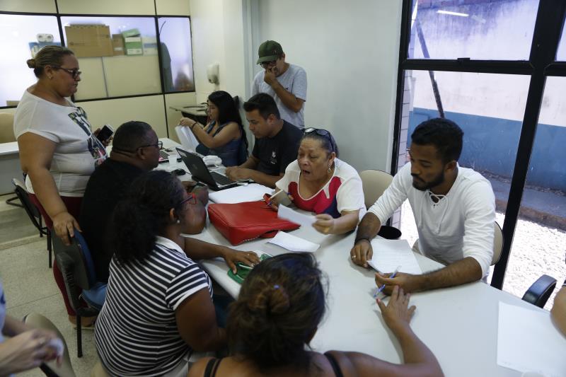 Serviços de cidadania foram levados para os moradores da vila.