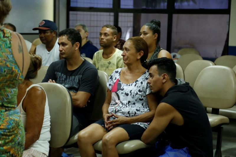 Cássio Araujo com a mãe Rita de Cássia, estiveram na Estação Cidadania para receber todo o atendimento necessário junto com a Prefeitura de Belém e Governo do Estado.