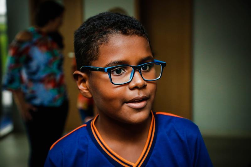 Matheus Caleb, aluno do 6º da Escola Liceu Escola Mestre Raimundo Cardoso.