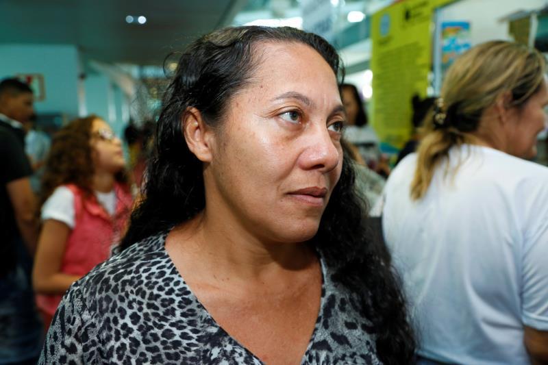 Laudeci da Silva, mãe de Caroline da Silva, mostrou satisfação em ver a filha dentro de um projeto literário.