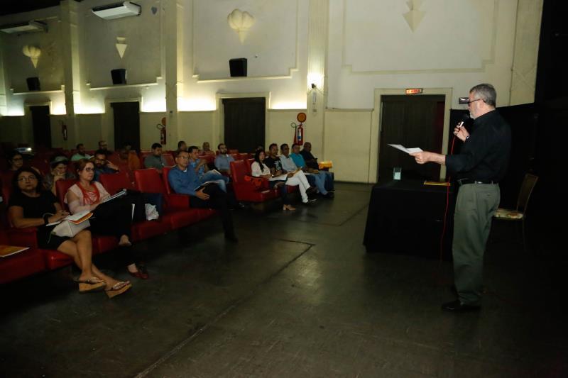 Primeira reunião ordinária do Conselho Municipal de Cultura ocorreu nesta segunda-feira, 11, no Cine Olympia.