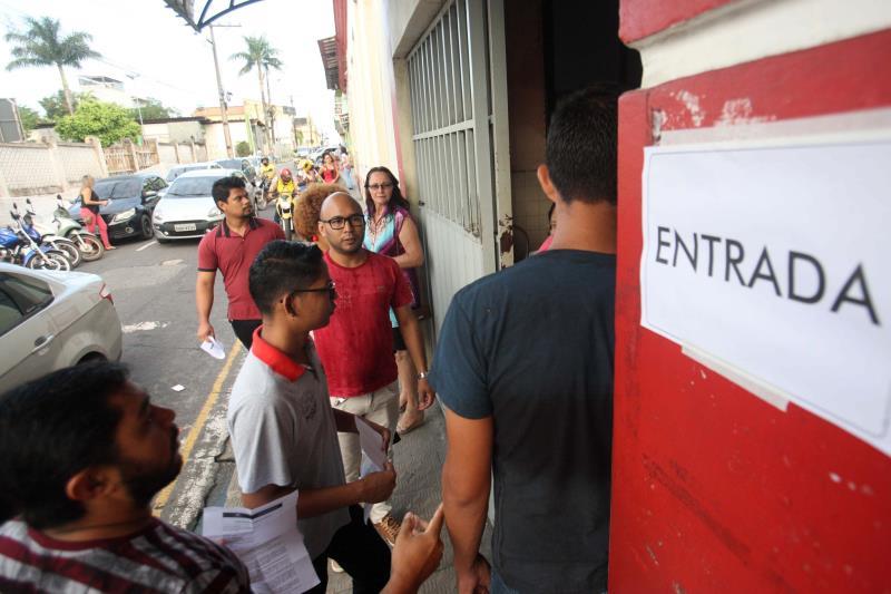 Nos municípios de Bragança (foto) e Capanema, no nordeste do Estado, as provas foram realizadas com tranquilidade