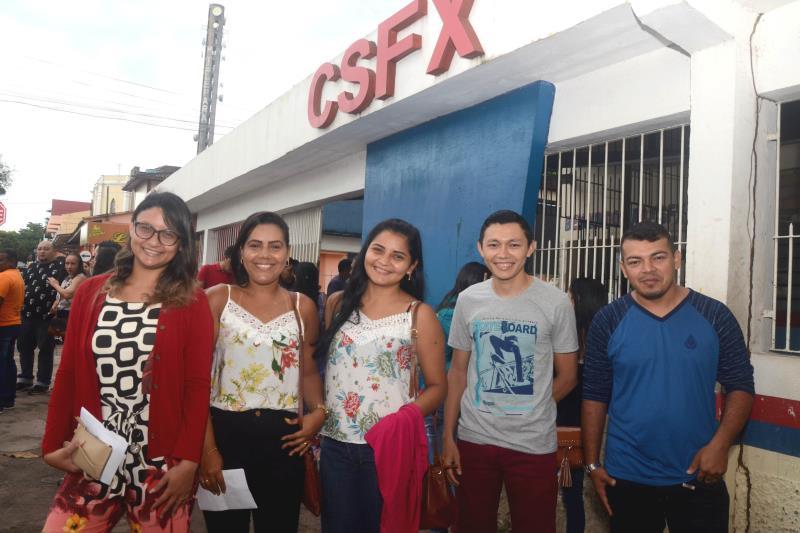 No Colégio São Francisco de Assis, que recebeu o maior número de inscritos, um grupo de professores de Matemática recém-formado participou do certame