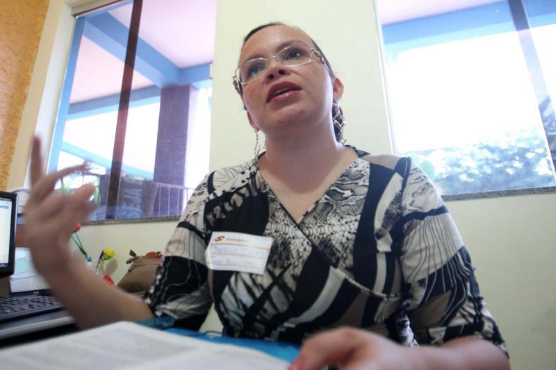 """""""Alguns confundiram e chegaram após o início e não puderam fazer a prova"""", explicou a coordenadora do concurso em Capanema, Danielle Batista Telles"""