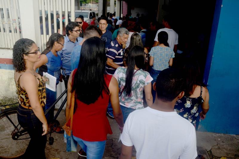 No município de Abaetetuba, 3.015 candidatos fizeram a prova do concurso da Seduc