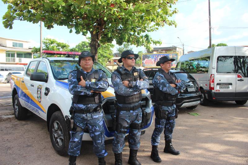 A Guarda Municipal de Belém reforçou a segurança no distrito para a tranquilidade de quem esteve na praia.