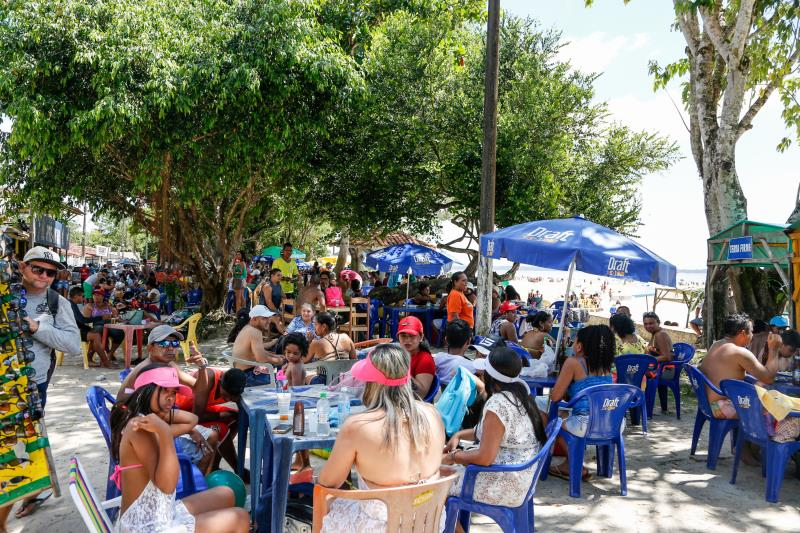 Outeiro é um dos destinos mais procurados nas férias de julho, principalmente aos domingos