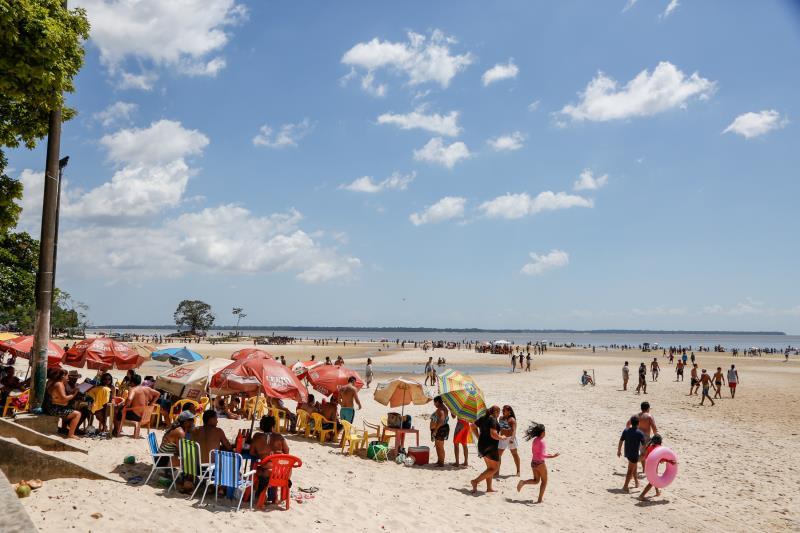 Para receber os mais de 30 mil visitantes que lotam a ilha nos finais de semana das férias, a Prefeitura de Belém, por meio de várias secretarias municipais, realizou inúmeras ações no distrito