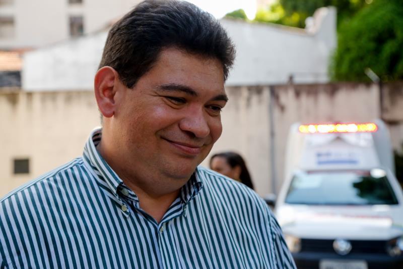 Luiz Lavor - Entrega de Ambulâncias