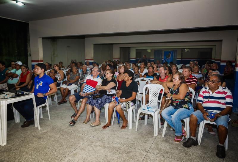 Reunião Sanear Belém e Codem