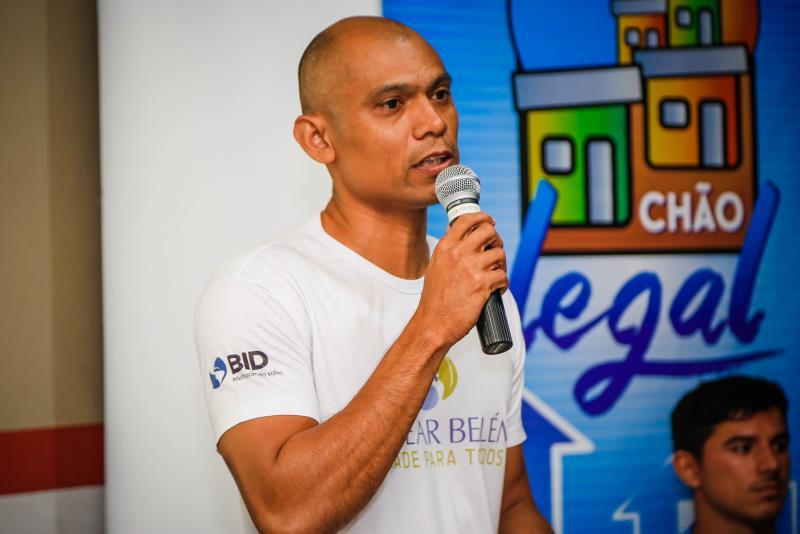 Reunião Sanear Belém e Codem   Na foto: Evaldo Reis