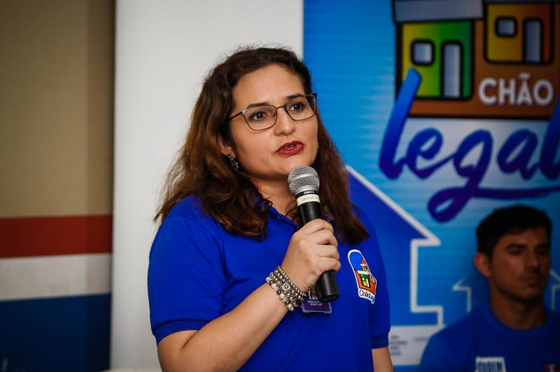 Reunião Sanear Belém e Codem   Na foto:Keila Almaida