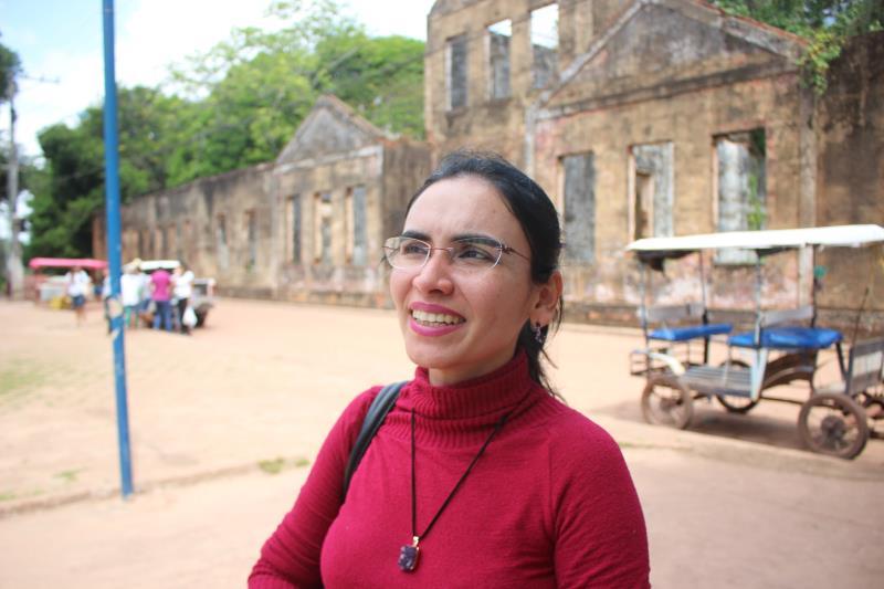 Prof.ª Dr.ª Simone Cardoso, da Ufpa.