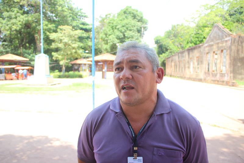 Nildo Matos, diretor geral da Arout