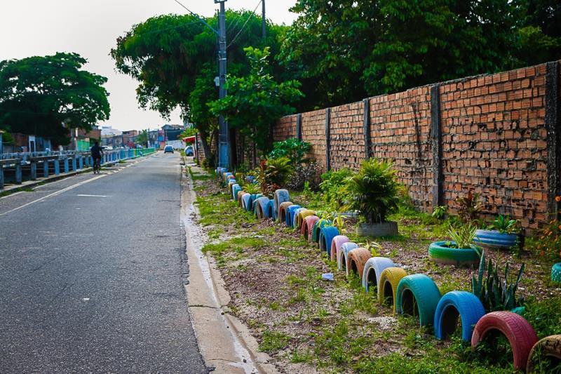 Pontos de Descarte de Lixo em Belém diminuem mais de 10%  Na  foto: Alameda Àgua Cristal Entre Esperanto e Samaritana