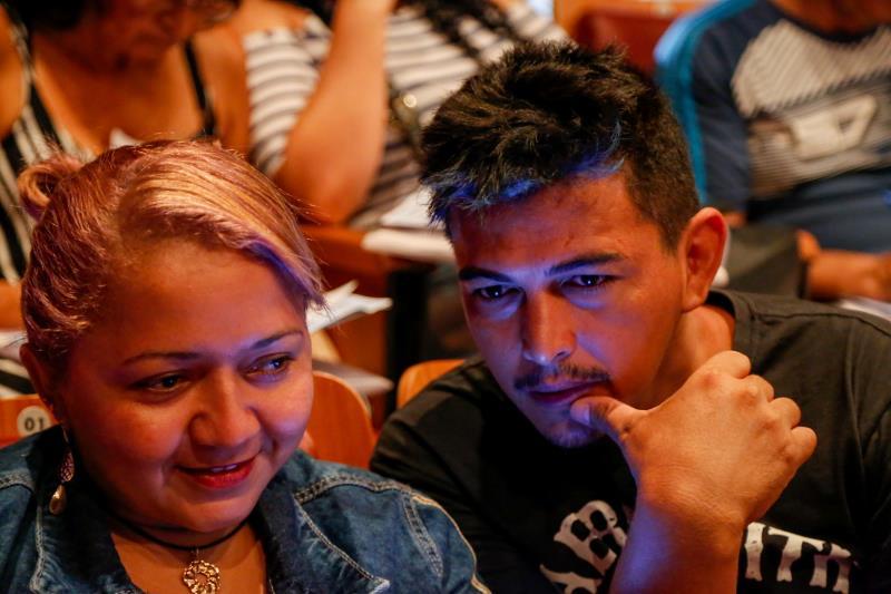 Luis Carlos e Erika Aguiar - Lançamento do Portal do Empreendedor. Foto: Fernando Sette Câmara