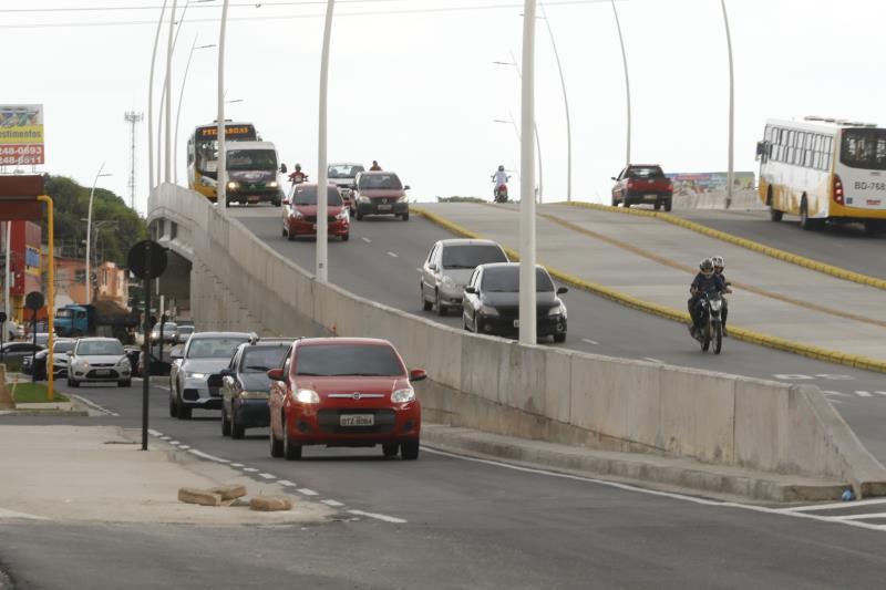2018.09.25 - PA - Belém - Brasil: Elevado da Avenida Augusto Montenegro com Avenida Independência.