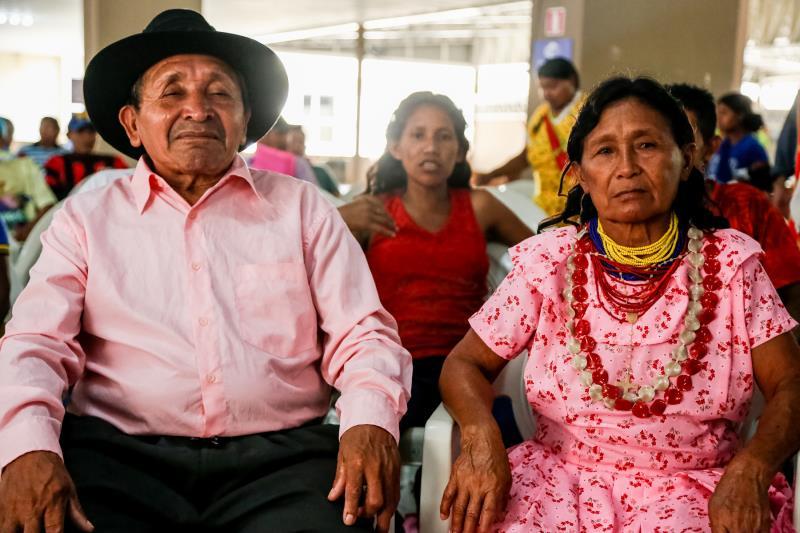 Reunião dos Indios Warao no Centur