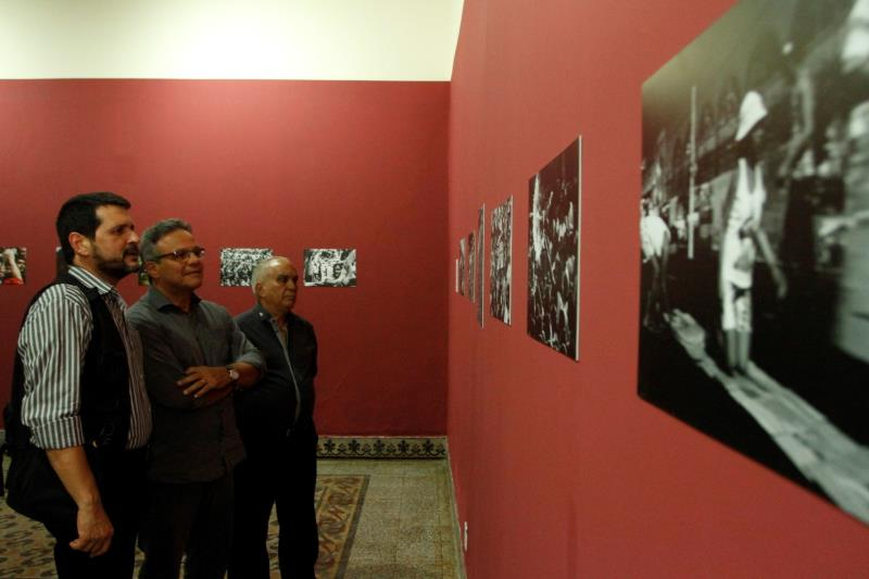 O Prefeito de Belém, Zenaldo Coutinho, prestigiou a abertura da exposição, e se disse encantado com as imagens.