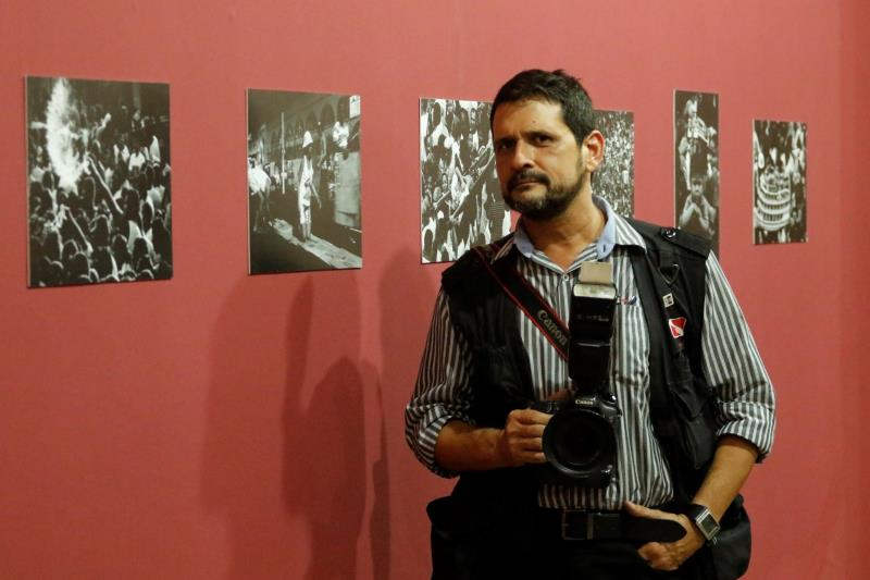 """""""Para mim é uma verdadeira honra, porque sou apaixonado por esse museu, pelo palácio e pelo Círio, e expor minhas imagens neste local já foi um privilégio importantíssimo"""", declarou Oswaldo Forte."""