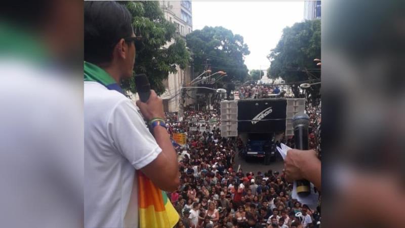 A Parada LGBTI é um dos grandes eventos do movimento.