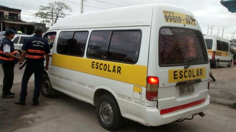 Atualmente, existem cadastrados junto à Superintendência Executiva de Mobilidade Urbana de Belém (SeMOB) 43 veículos aptos para a prestação do serviço de transporte escolar
