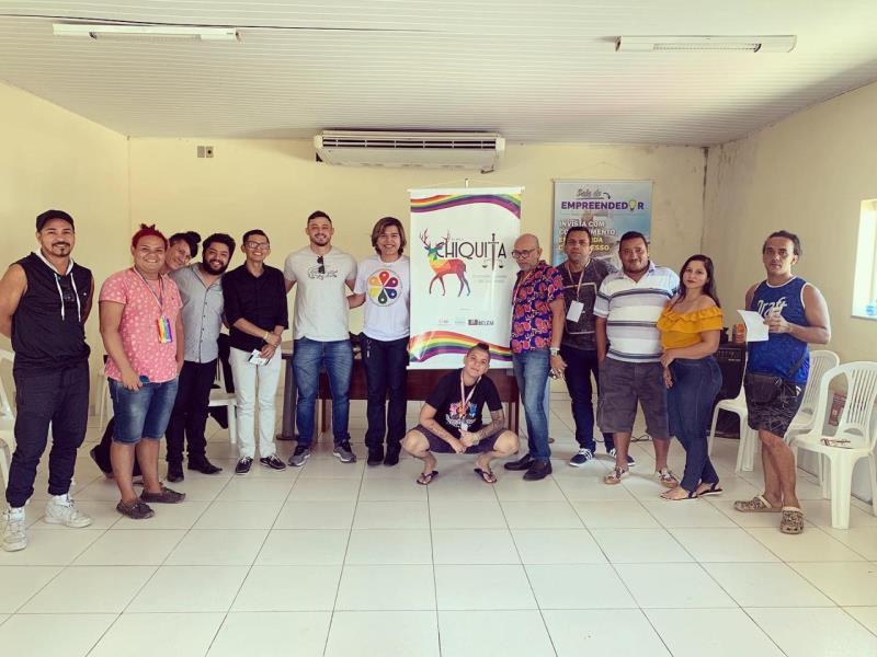 Durante a semana que antecedeu a Parada do Orgulho LGBTI, a Prefeitura de Belém realizou na sede da Agência Distrital de Mosqueiro uma série de palestras e oficinas com foco em temas pertinentes a todos
