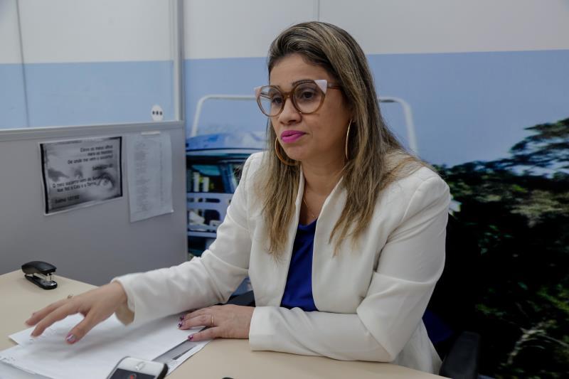 Bruna Nascimento, coordenadora da Central Bel Fácil.
