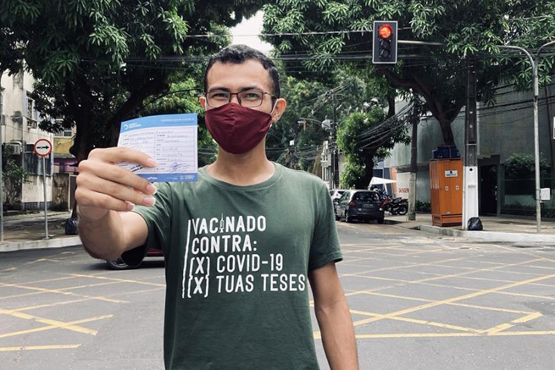 Thiago Favacho, cliente que já apriveitou descontos na Margens