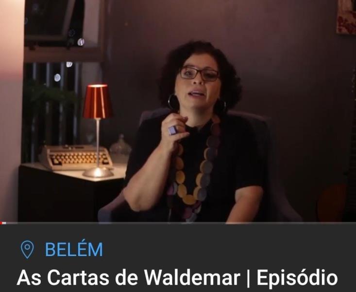 cantora e Museóloga Sônia Nascimento apresenta videocast