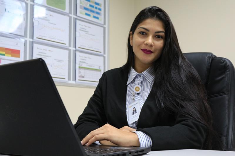 Diretora Hospitalar do HMIB, Patrícia Hermes - Pró-Saúde