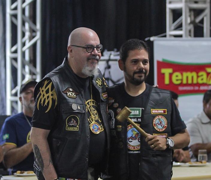 Joãos Faustino Neto, delegado estadual com Michael Robson, coordenador de Paragominas