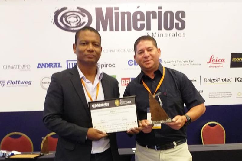 O projeto foi desenvolvido pelos colaboradores da Imerys, Jorge Almeida e Maurício Leão