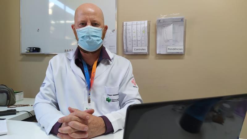 Clóvis Guse - Diretor Assistencial do HRPL