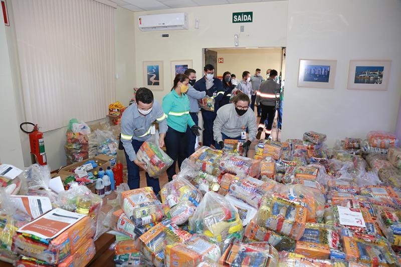Doação Voluntários em Ação