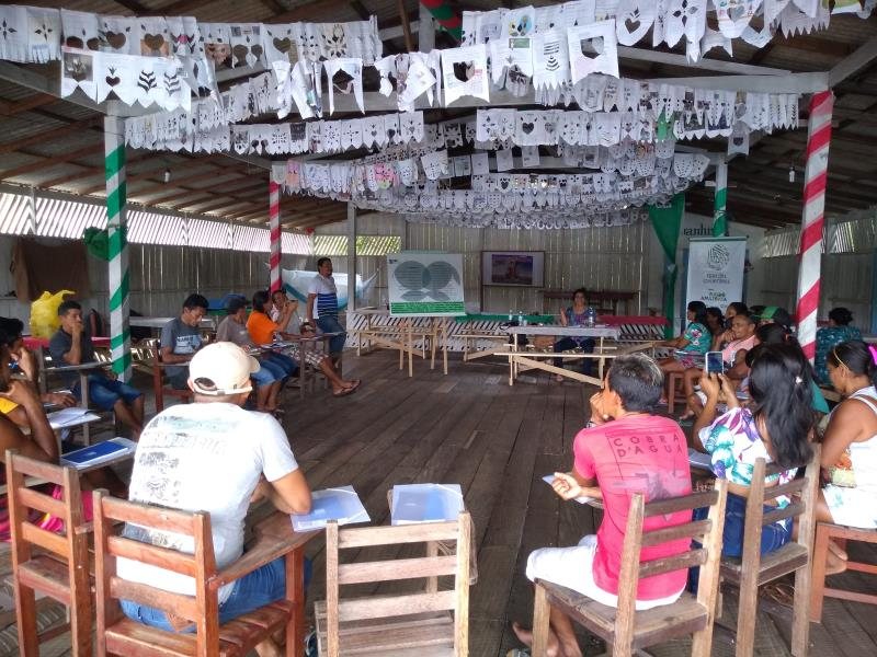 Comunitários da Resex Mapuá