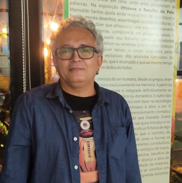 O escritor Ney Ferraz é o curador da Exposição