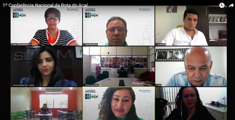 Conferência foi no formato virtual mas contou com 10 salas em cidades da Amazônia