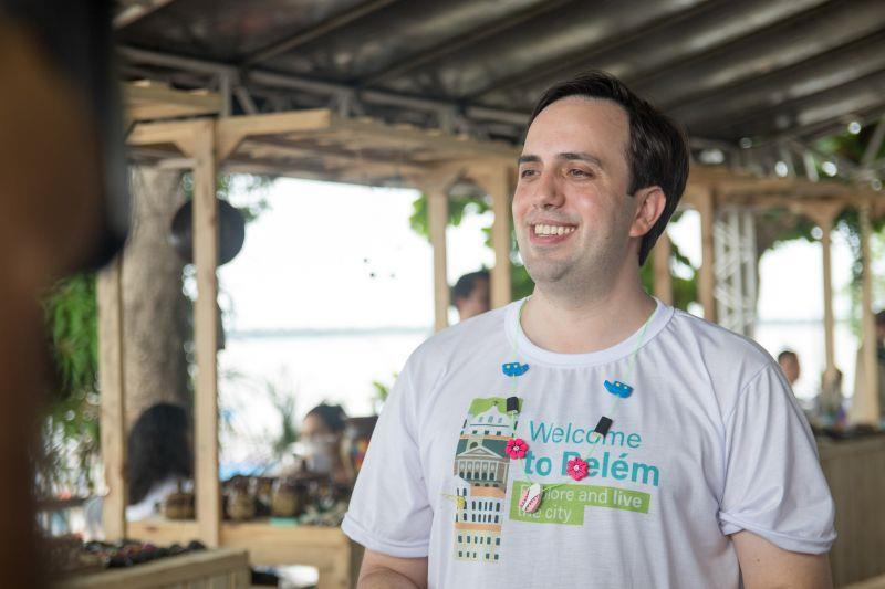 Secretário de Turismo, André Dias