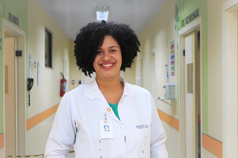 Daniella Dias, psicóloga do HMIB - Pró-Saúde