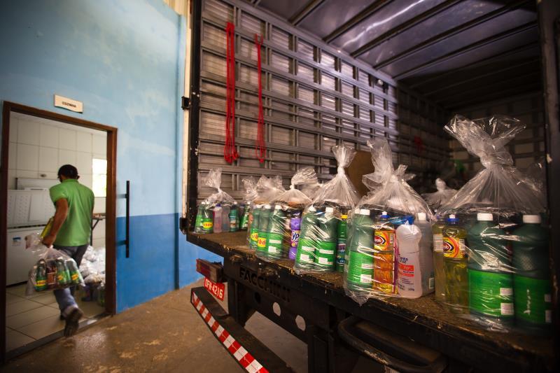 Projeto Tamo Junto - Distribuição de kits, Ruc Casa Nova
