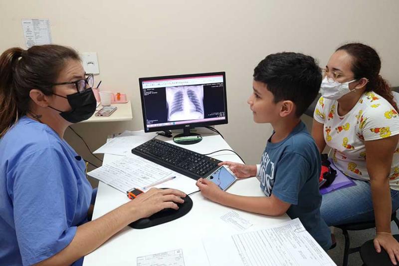 O diagnóstico precoce garante a possibilidade de cura. Foto - Comunicação Pró-Saúde.