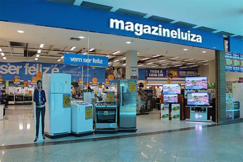 Fachada de loja do Magazine Luiza (Shopping Iguatemi Fortaleza/Divulgação)