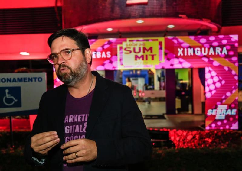 """""""Queremos fazer do Summit Sebrae o maior evento de marketing digital do Brasil"""", avisou Rubens Magno"""