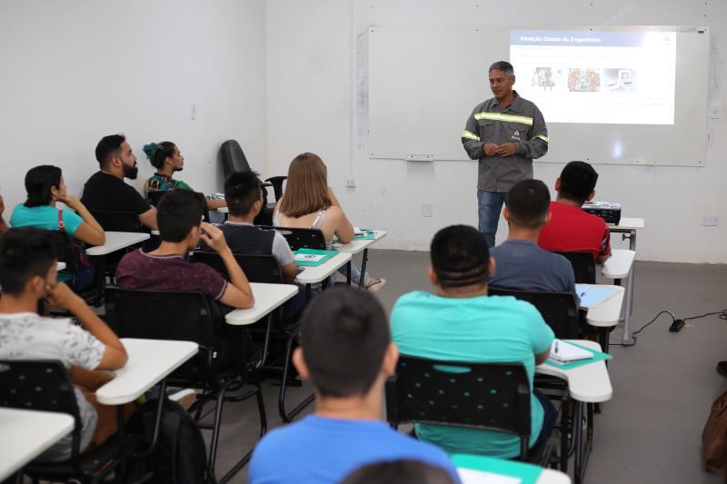 Fábio Brandão abordou os desafios da Engenharia diante da competição do mercado